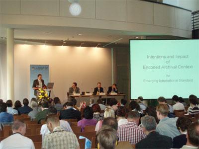 Conferencia Europea sobre EAD, EAC y METS: Daniel Pitti habla sobre EAC